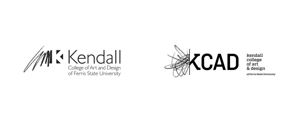 New Logo for Kendall College of Art and Design by Grey Matter Group