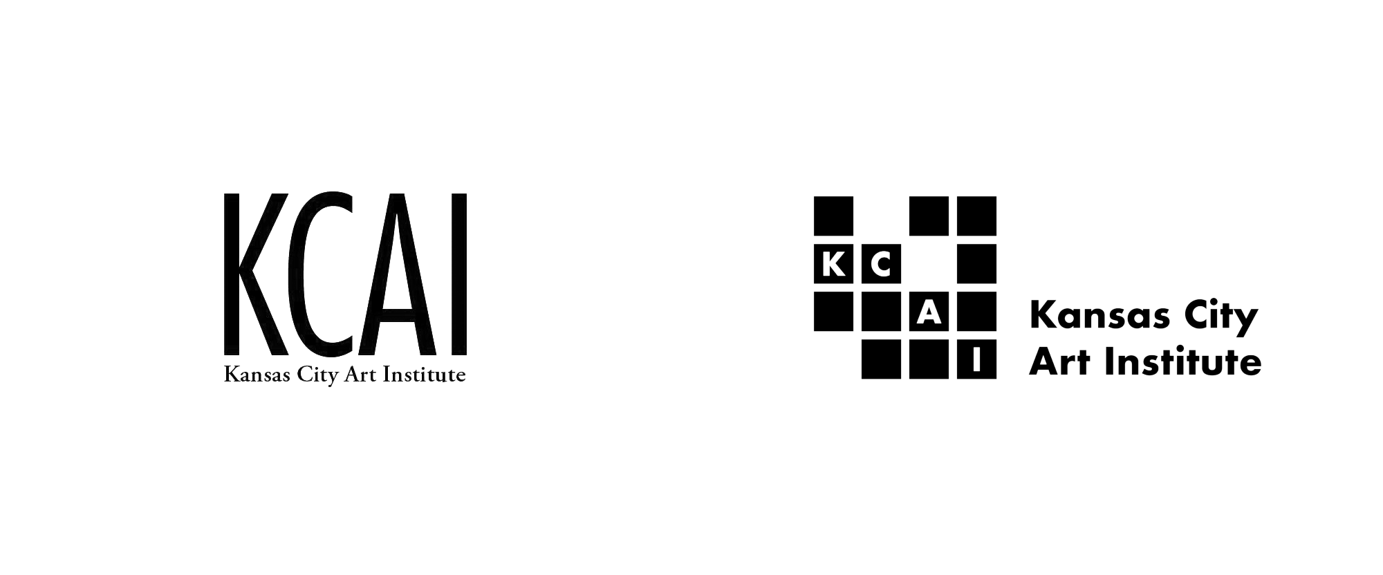 New Logo for Kansas City Art Institute by DMH