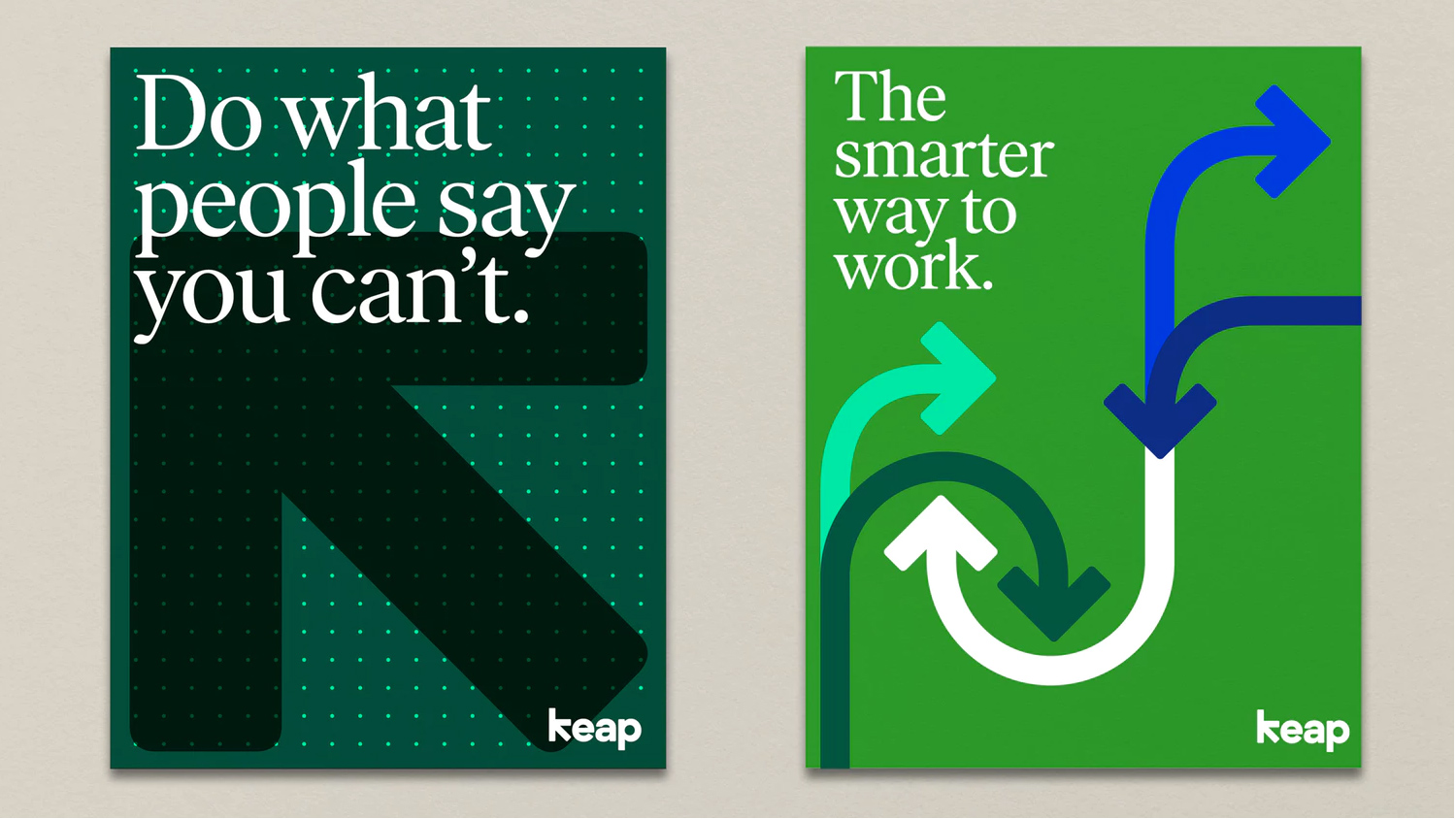 New Name, Logo, and Identity for Keap by Pentagram