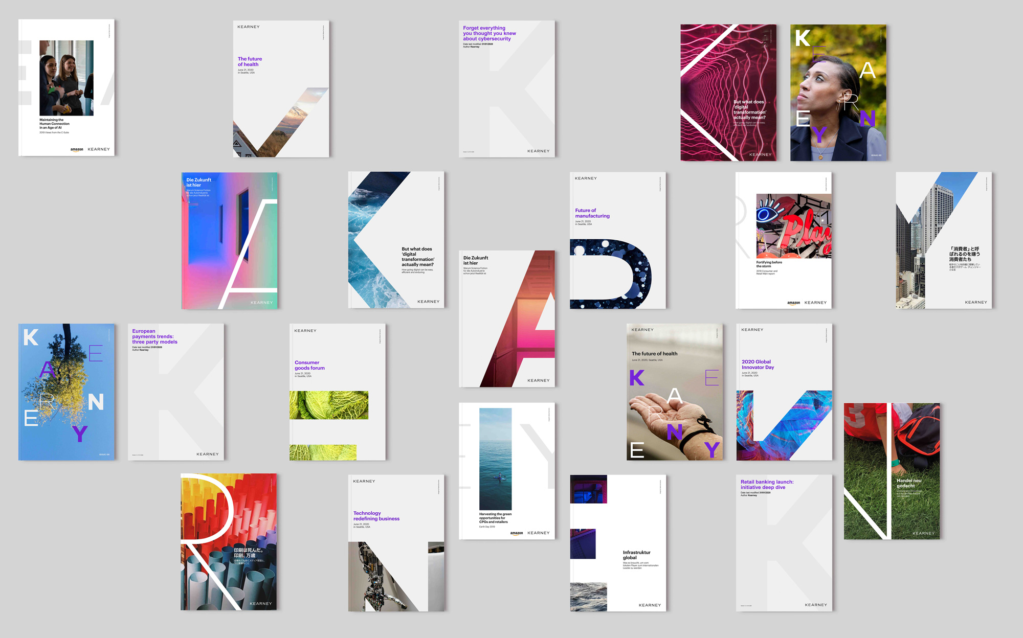 New Logo and Identity for Kearney by Siegel+Gale