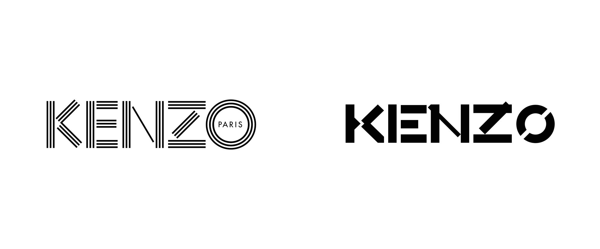 New Logo for Kenzo