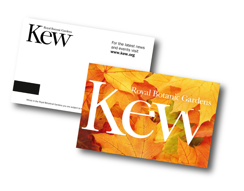 New Logo and Identity for Royal Botanic Gardens, Kew by Pentagram