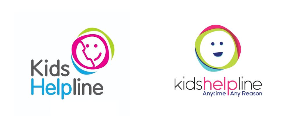New Logo for Kids Helpline