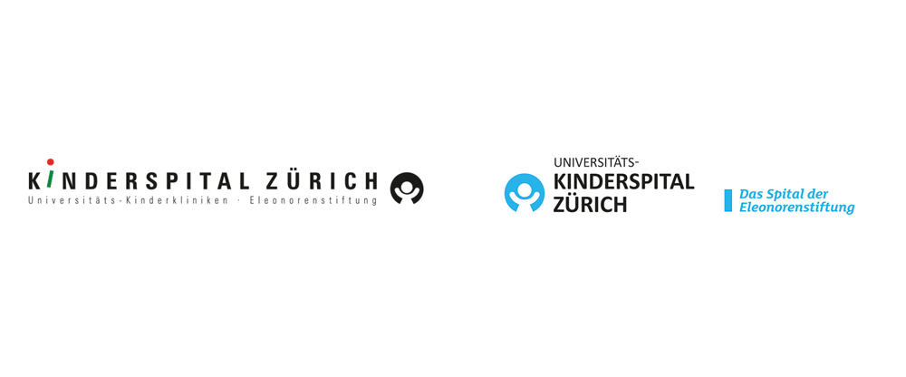 New Logo and Identity for Kinderspital Zürich by Facing