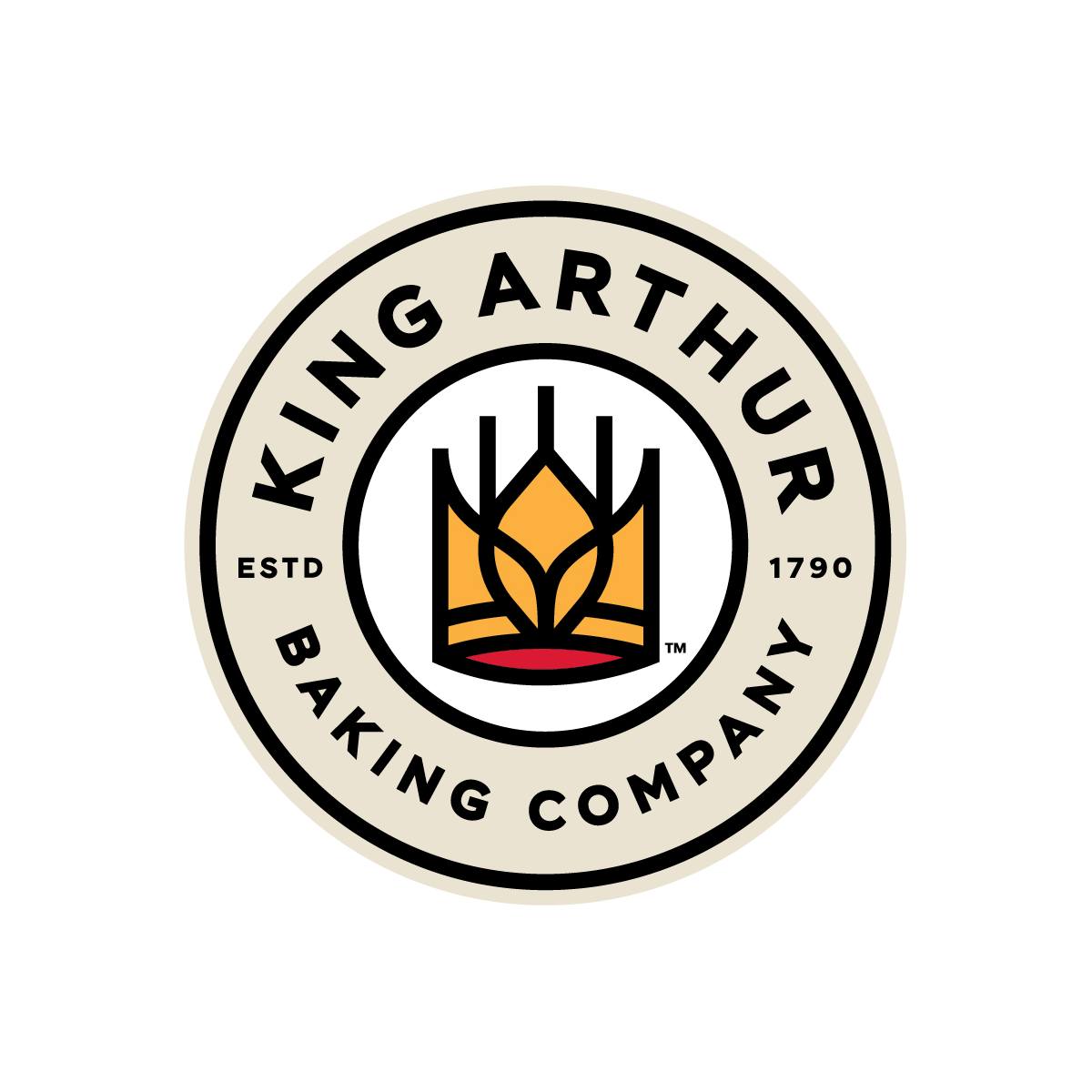 New Logo and Packaging for King Arthur Baking Company by Little