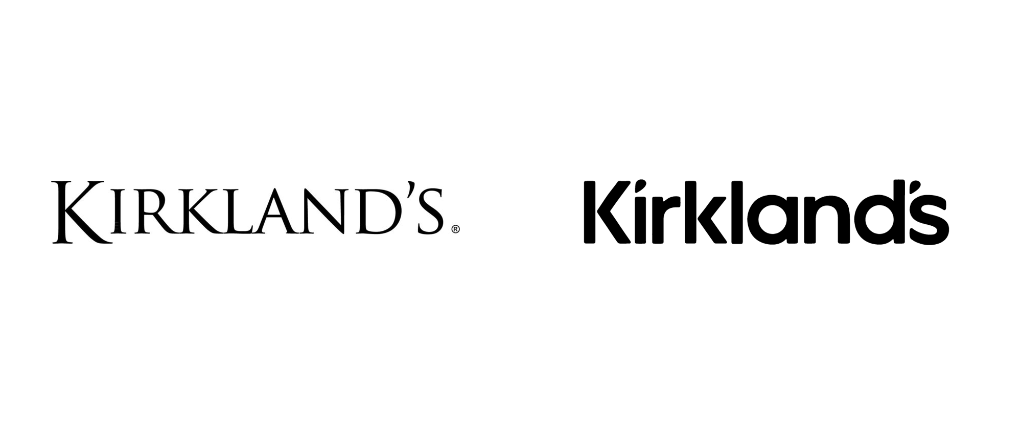 New Logo for Kirkland's