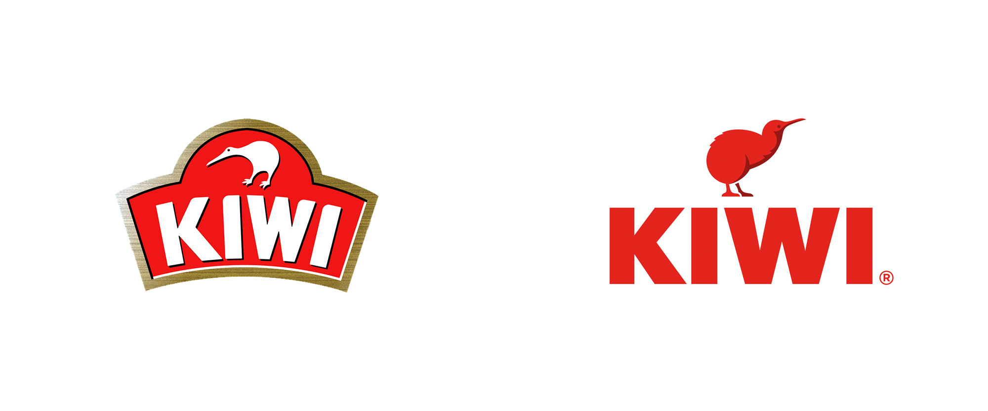 New Logo and Packaging for Kiwi by Landor (with Glitschka Studios)