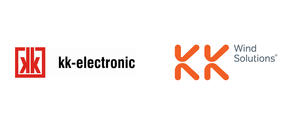 New Logo and Identity for KK Wind Solutions by Heydays