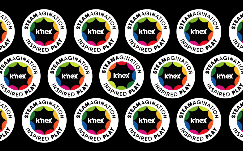 New Logo and Identity for K'NEX by Solidarity of Unbridled Labour