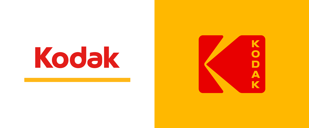 Brand New New Logo And Identity For Kodak By Work Order