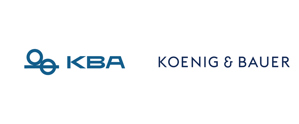 New Logo and Identity for Koenig & Bauer by MUTABOR