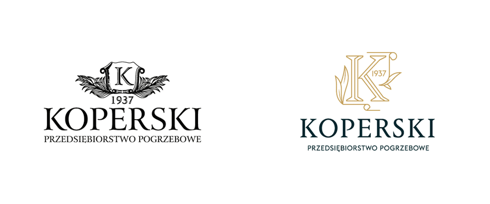 New Logo and Identity for Koperski (Funeral Company) by UVMW