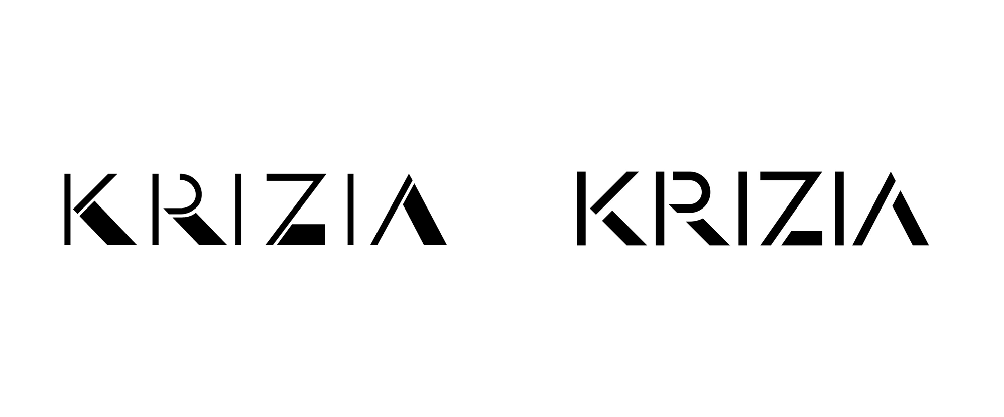 New Logo for Krizia by Think Work Observe