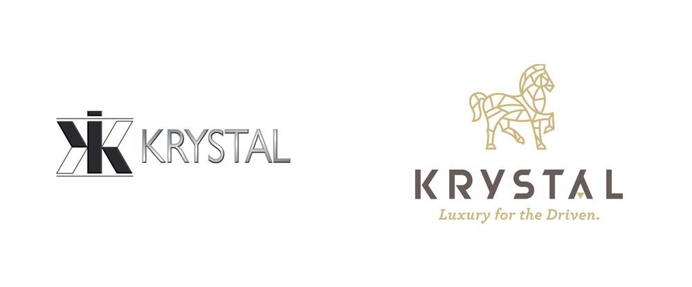 Brand New New Logo And Identity For Krystal By Gardner Design