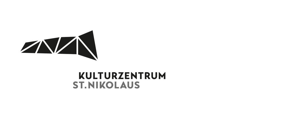 New Logo and Signage for Kulturzentrum St Nikolaus by Corporate Design Studio Schrott