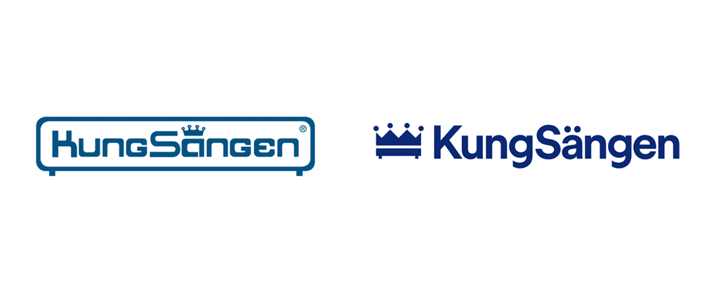 New Logo and Identity for KungSängen by Ström & Jag