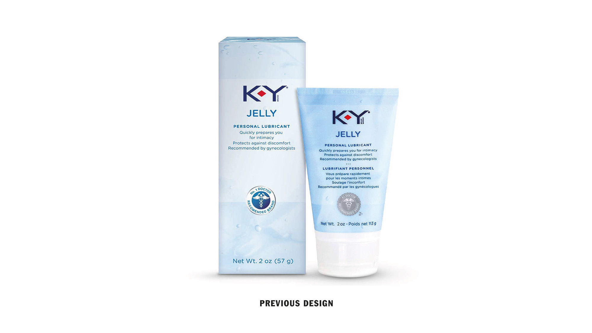 New Logo and Packaging for K-Y by Design Bridge