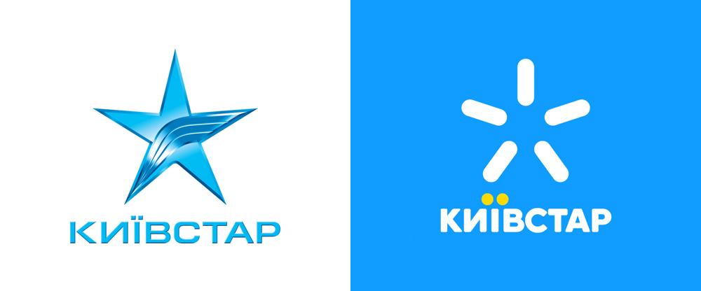 New Logo for Kyivstar by Saffron