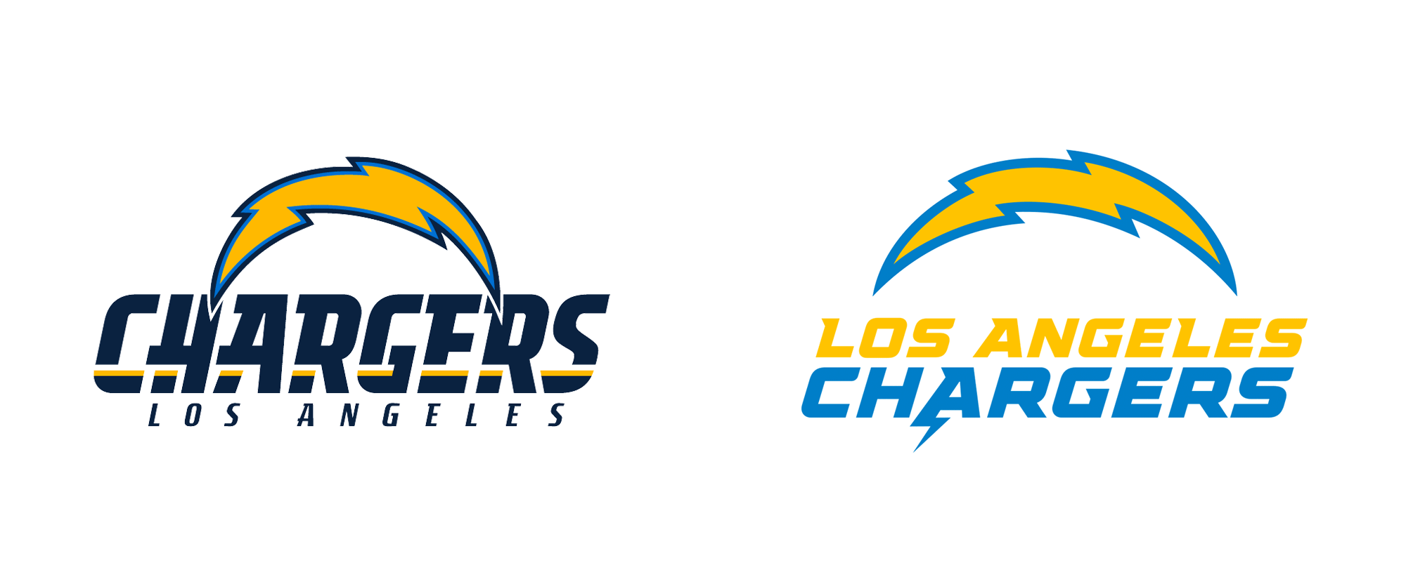 New Logo for Los Angeles Chargers