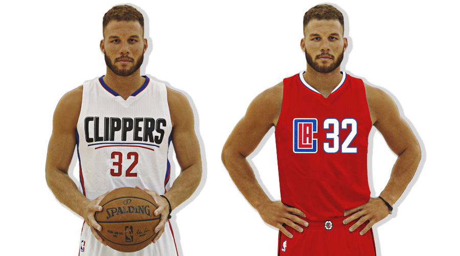 brand new  new logo and uniforms for los angeles clippers