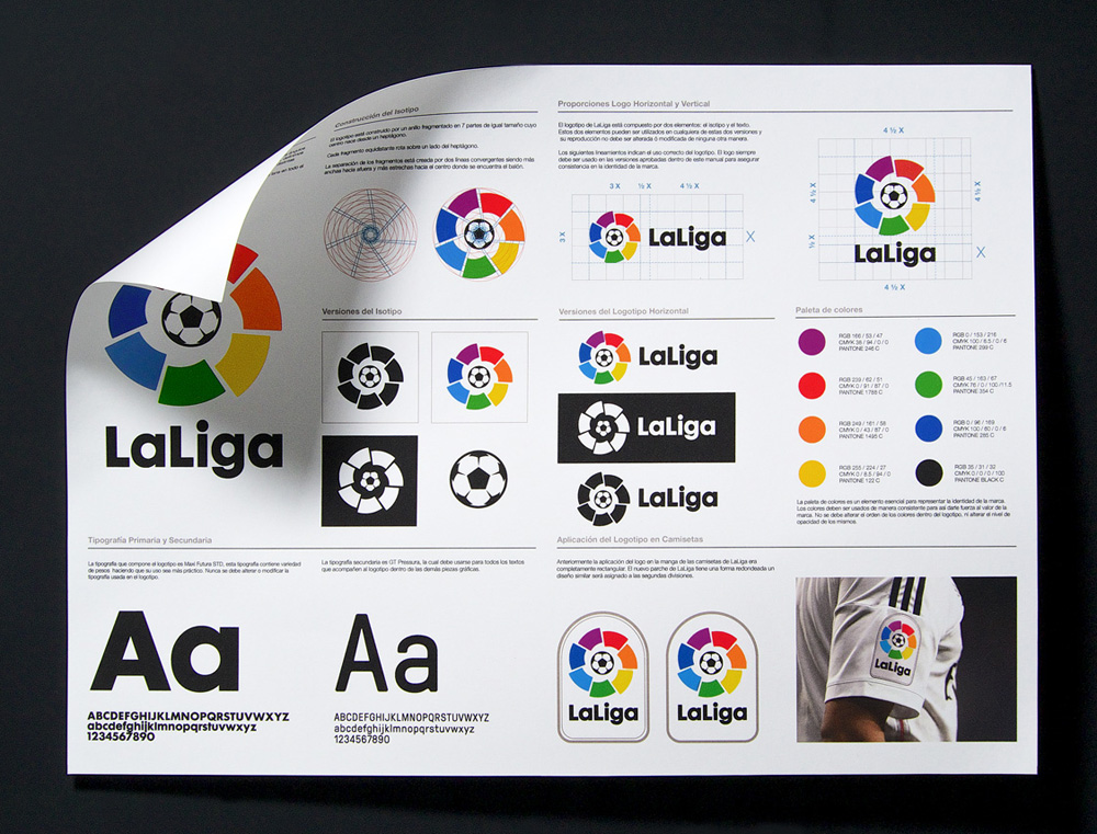 New Logo for LaLiga by IS Creative Studio