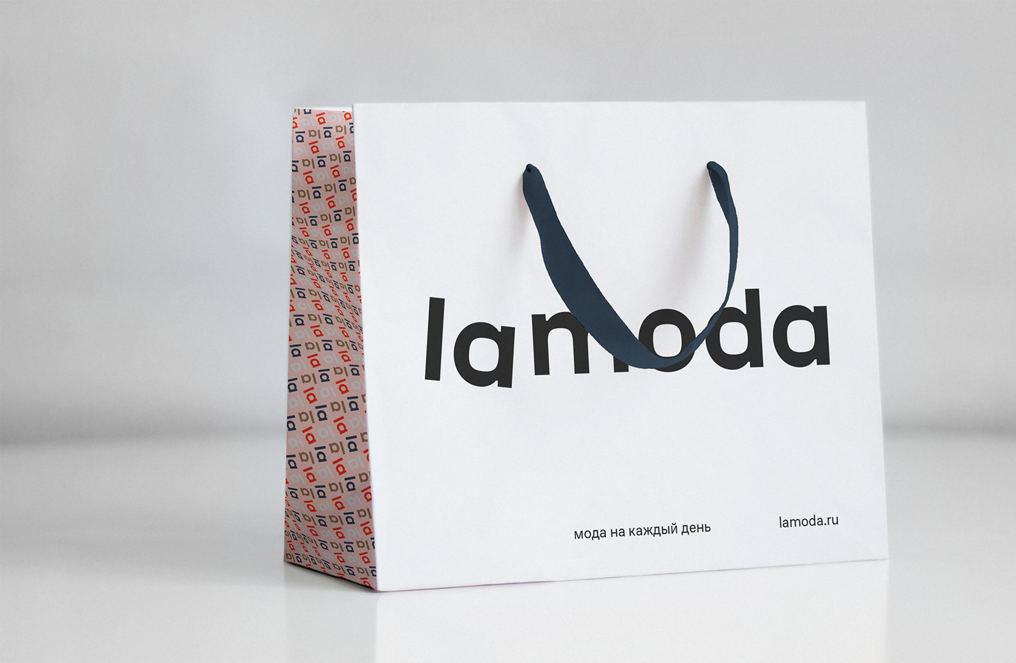 New Logo and Identity for lamoda by Shuka