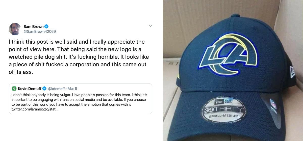 LA Rams Logo Leak