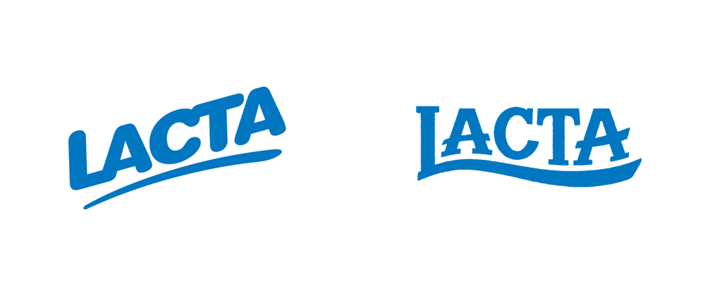 New Logo for Lacta