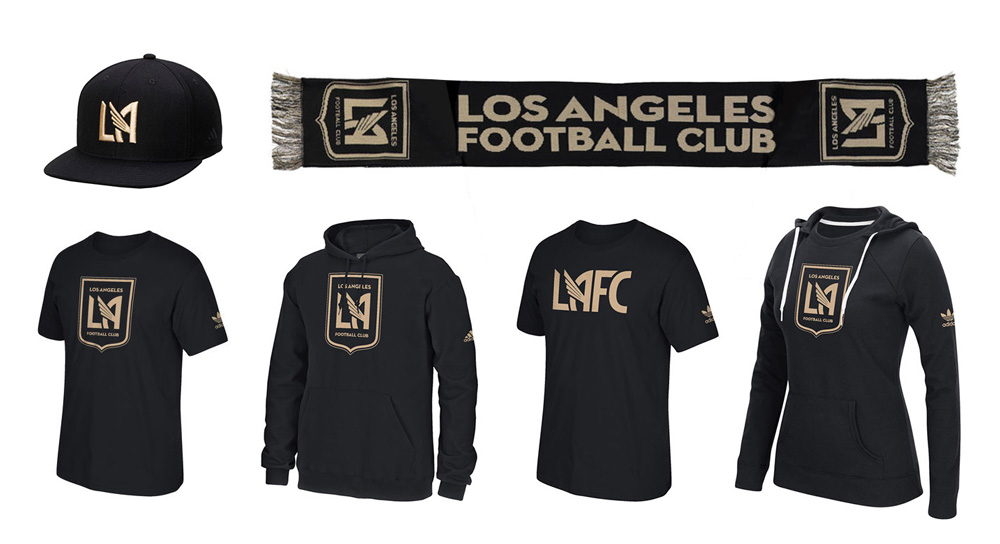 04ce7ac53 Brand New  New Logo for Los Angeles Football Club by Tue Nguyen and ...