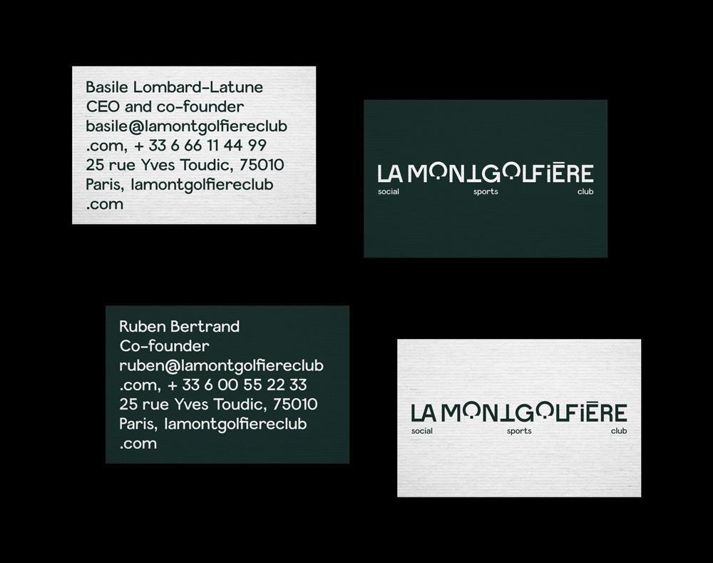 New Logo and Identity for La Mongolfière by Brand Brothers