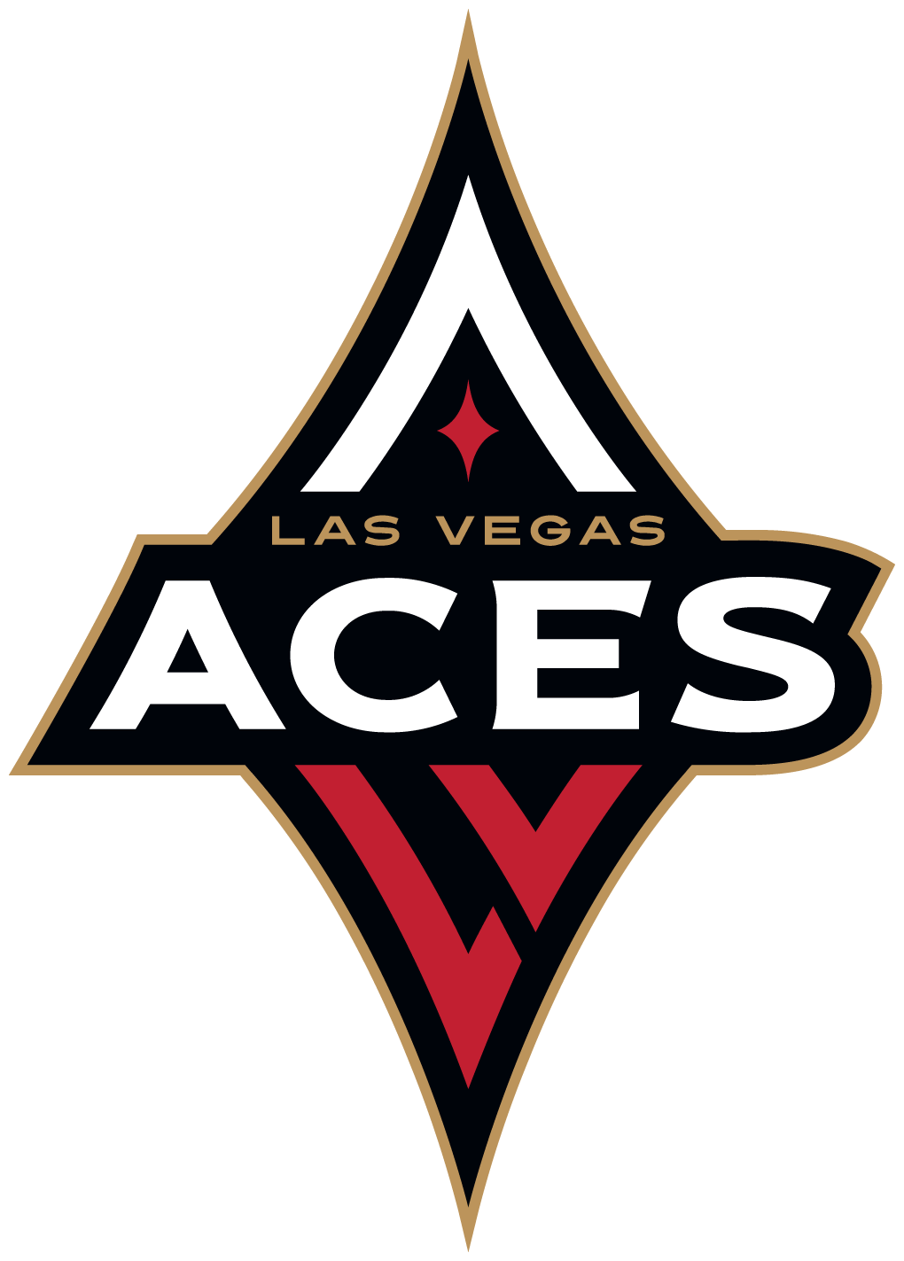 brand new new name and logo for las vegas aces