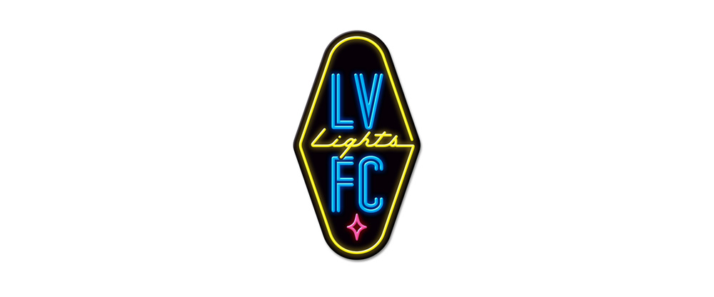 New Logo for Las Vegas Lights FC