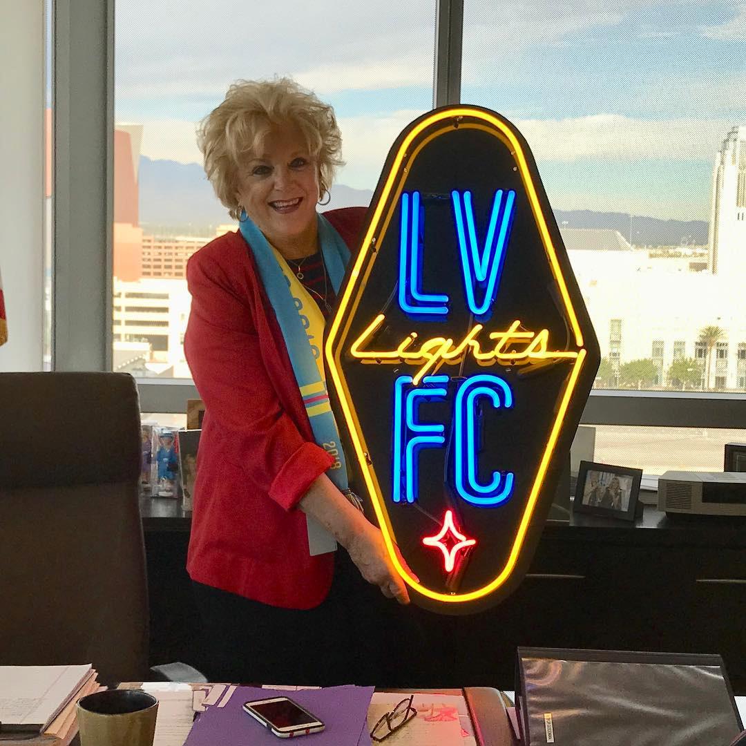 New Logo for Las Vegas Lights FC