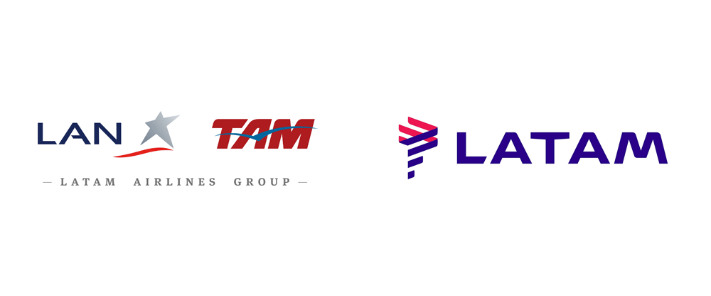 Brand New: New Logo for LATAM by Interbrand