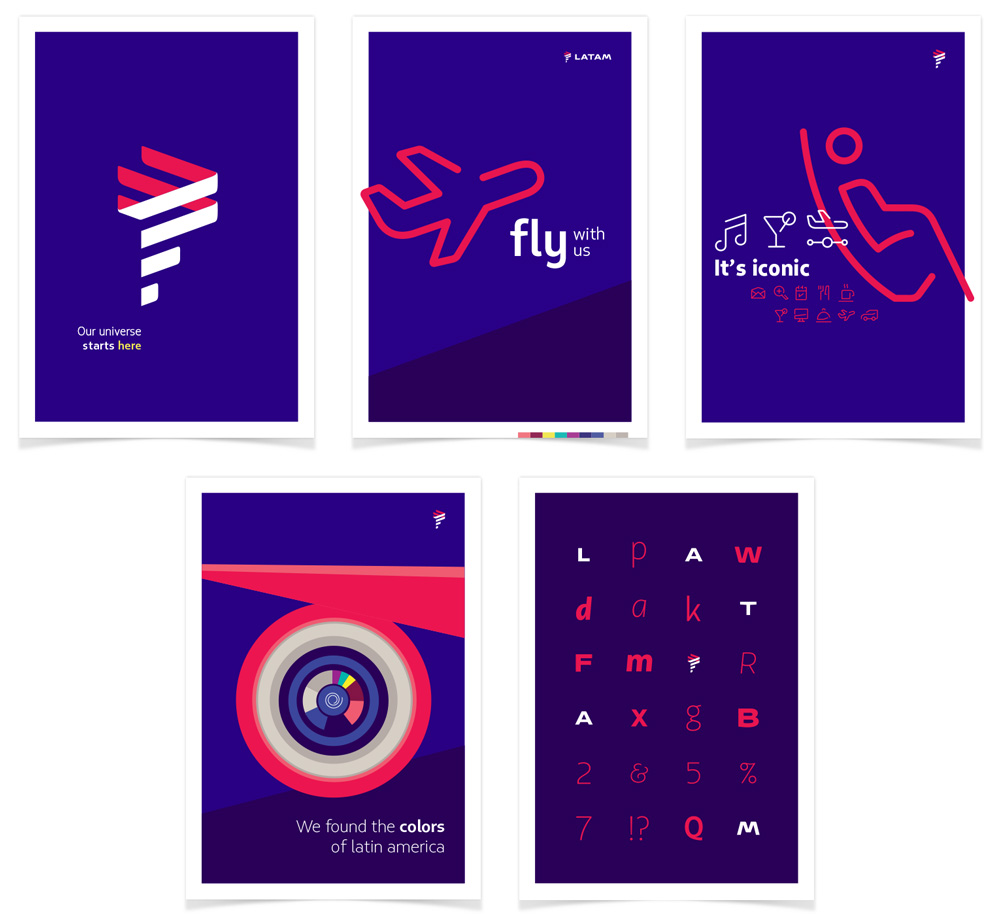 New Logo for LATAM by Interbrand