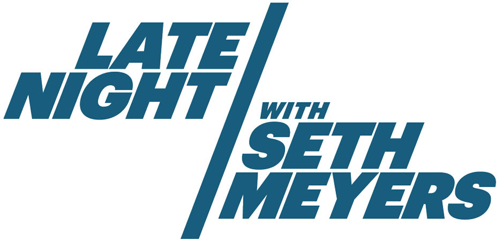 New Logo for Late Night with Seth Meyers by Eight and a Half