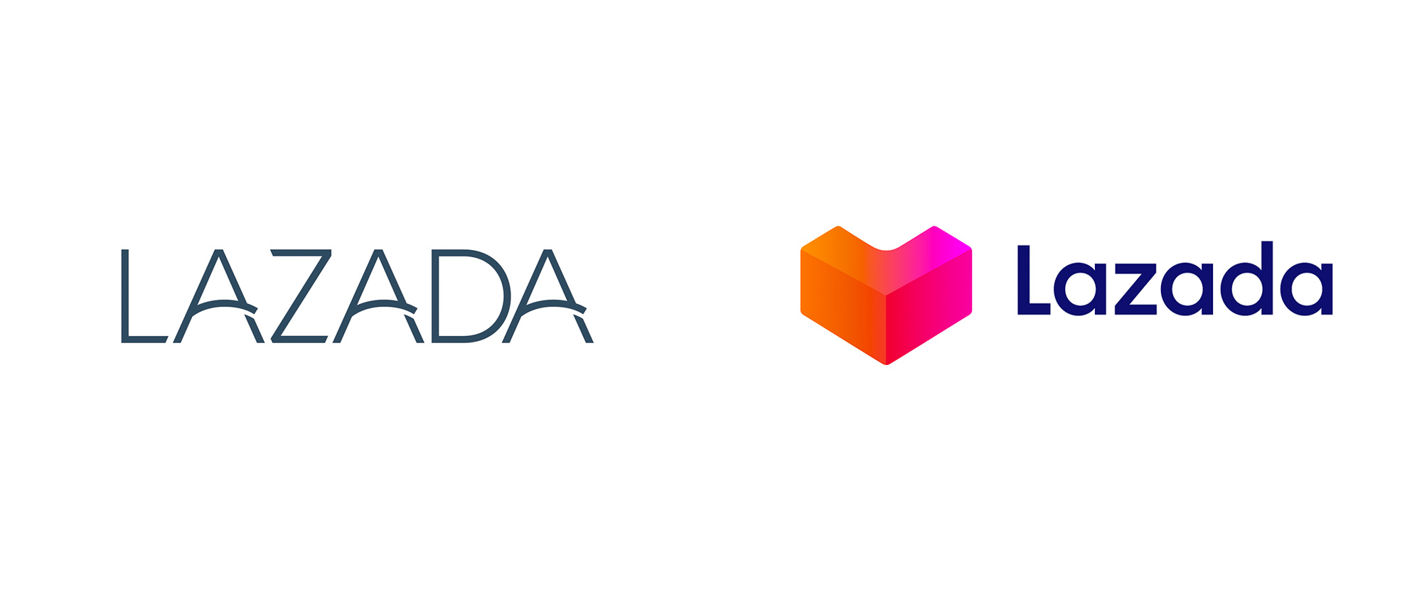 New Logo for Lazada by Superunion