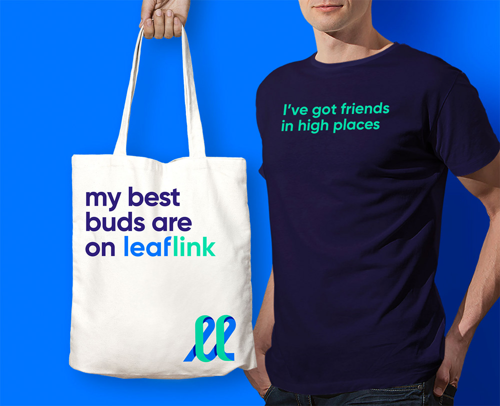 New Logo and Identity for LeafLink by Works Progress