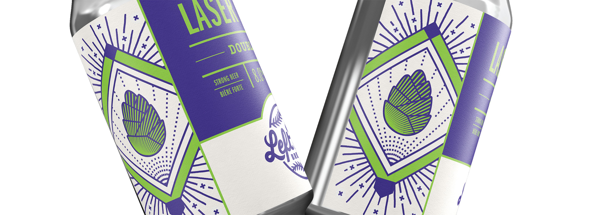 New Logo, Identity, and Packaging for Left Field Brewery by CODO
