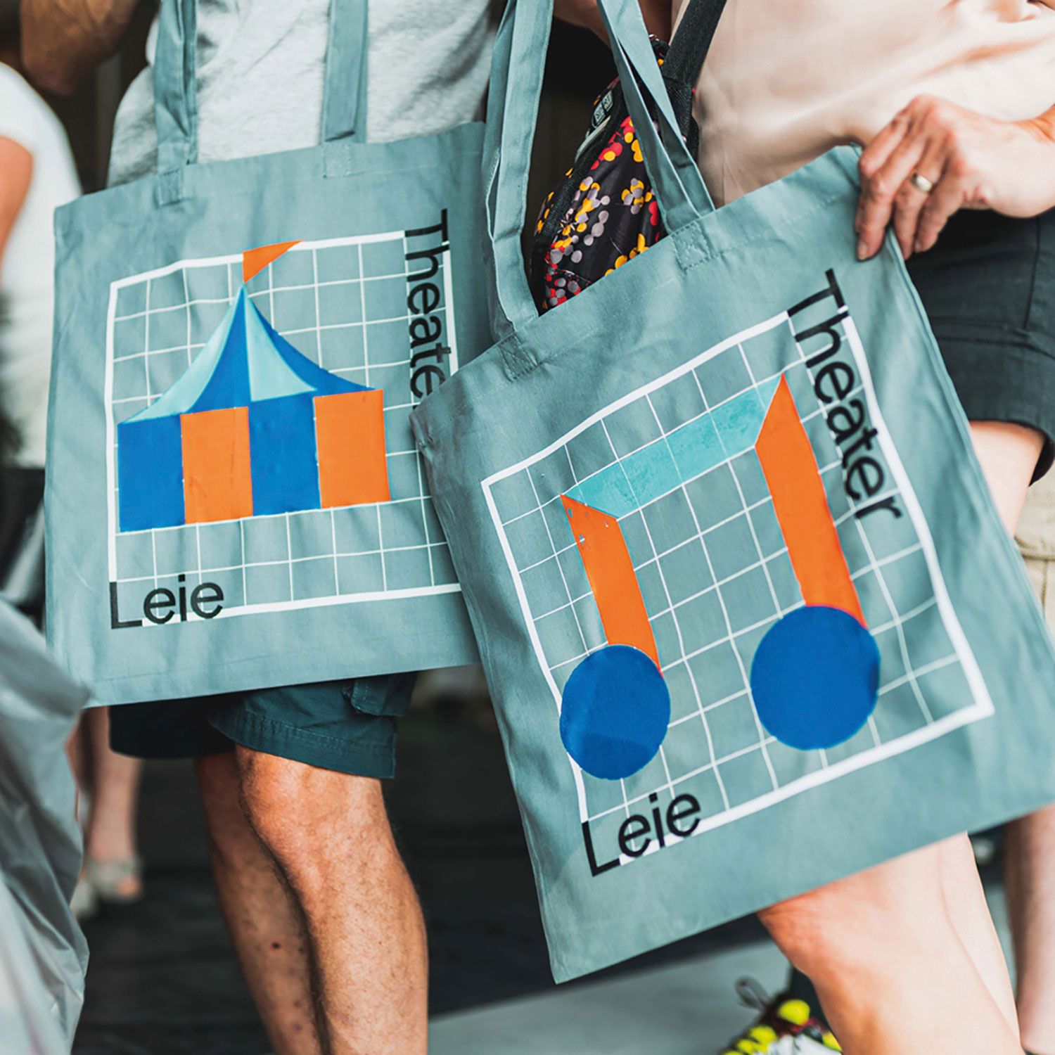New Logo and Identity for Leietheater by DIFT