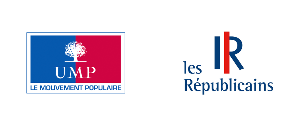 brand new  new name and logo for les republicains