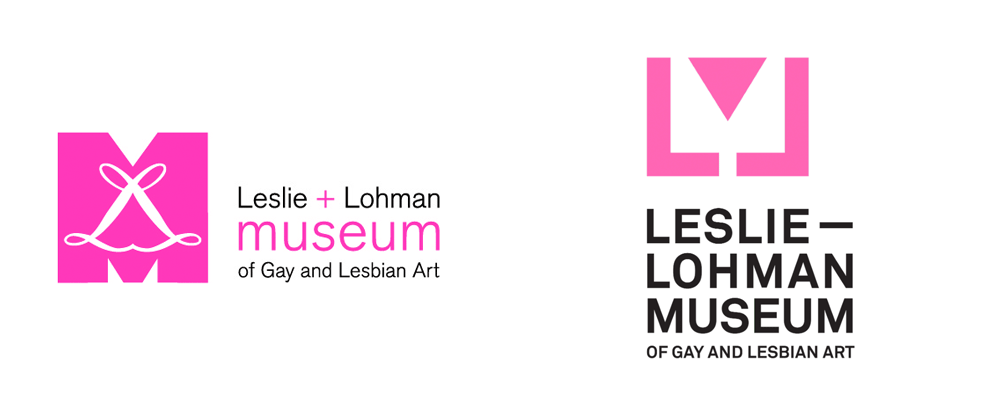 New Logo for Leslie-Lohman Museum of Gay and Lesbian Art