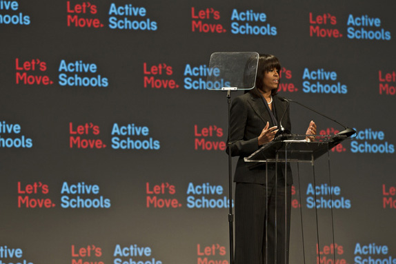 Let's Move Active Schools Logo and Identity