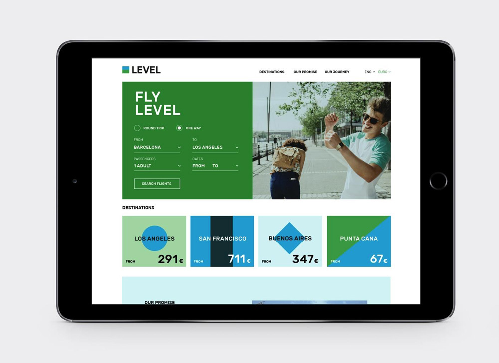 New Logo and Identity for LEVEL by Brand Union