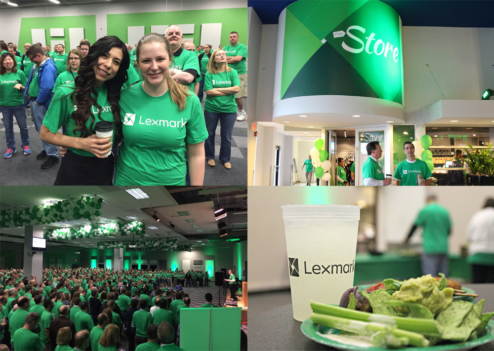 New Logo and Identity for Lexmark by Moving Brands