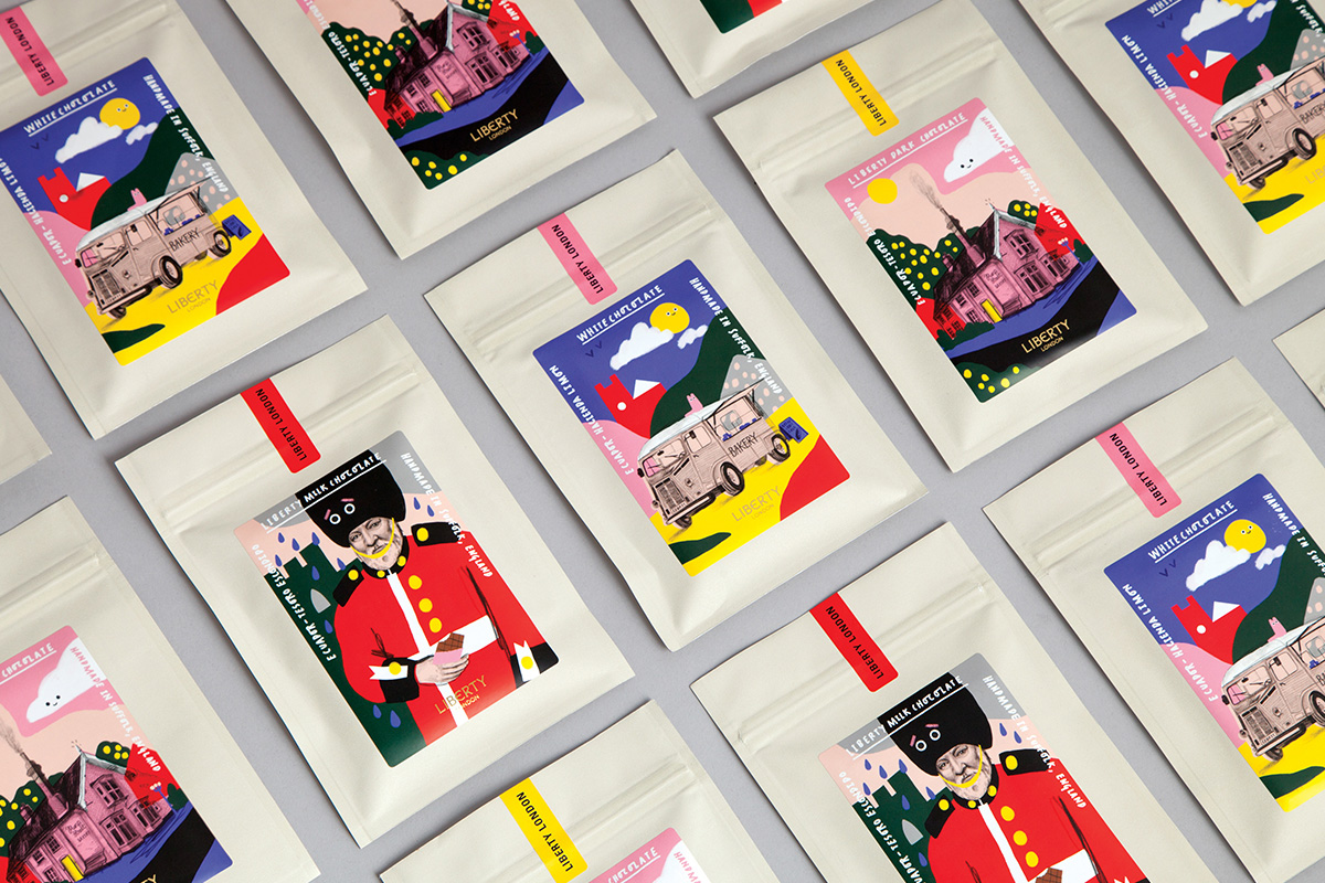 New Packaging for Liberty London Food by & Smith