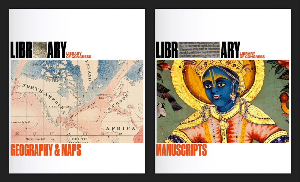 Brand New: New Logo and Identity for Library of Congress by