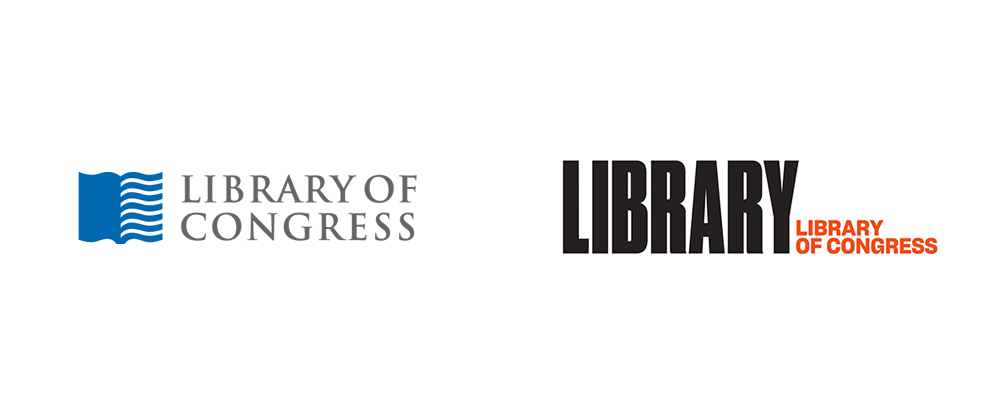 Brand New: New Logo and Identity for Library of Congress by Pentagram