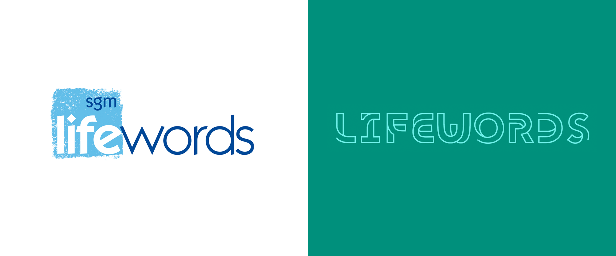 New Logo and Identity for Lifewords by Sparks Studio