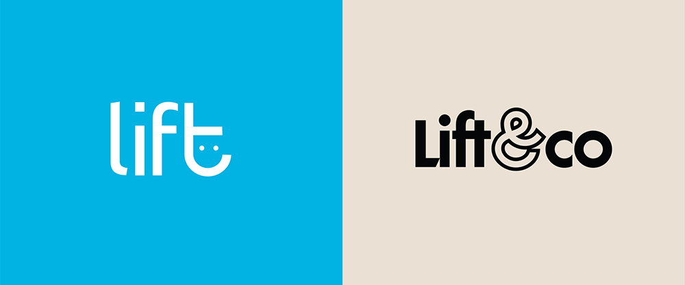 New Logo and Identity for Lift & Co. by Eighty-Eight